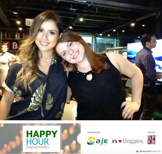 Thata Saeter e Morgana no Happy Hour RSBloggers