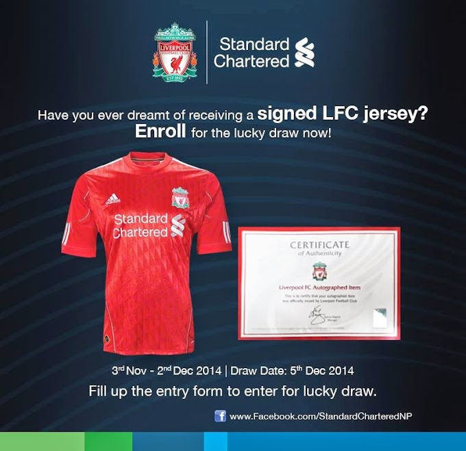 Liverpool's champions League Performance along with know how to get chance to win LFC signed Shirt??