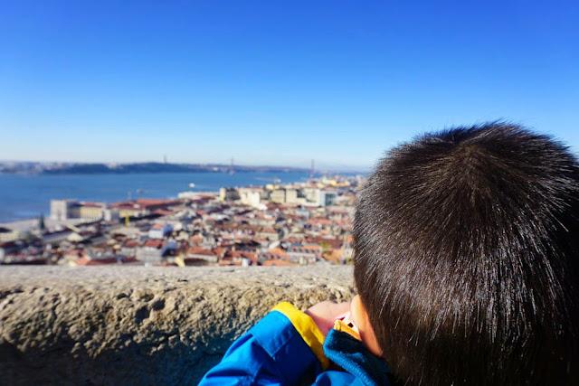 サン・ジョルジェ城 眺め