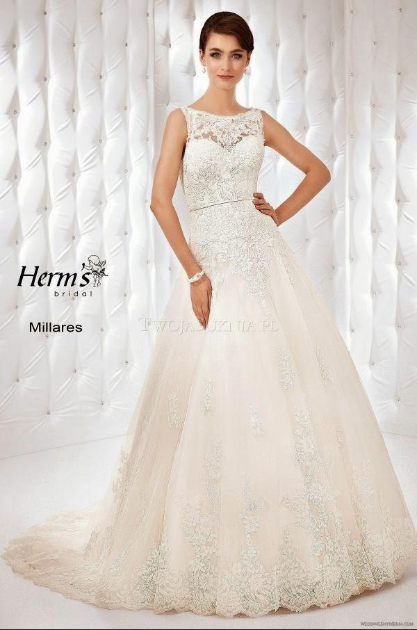 9f23f66f7e Suknie ślubne Vestido Suknia ślubna Firmy Herms Model Milares