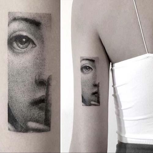 kadın arka kol dövmesi tumblr woman arm back tattoo