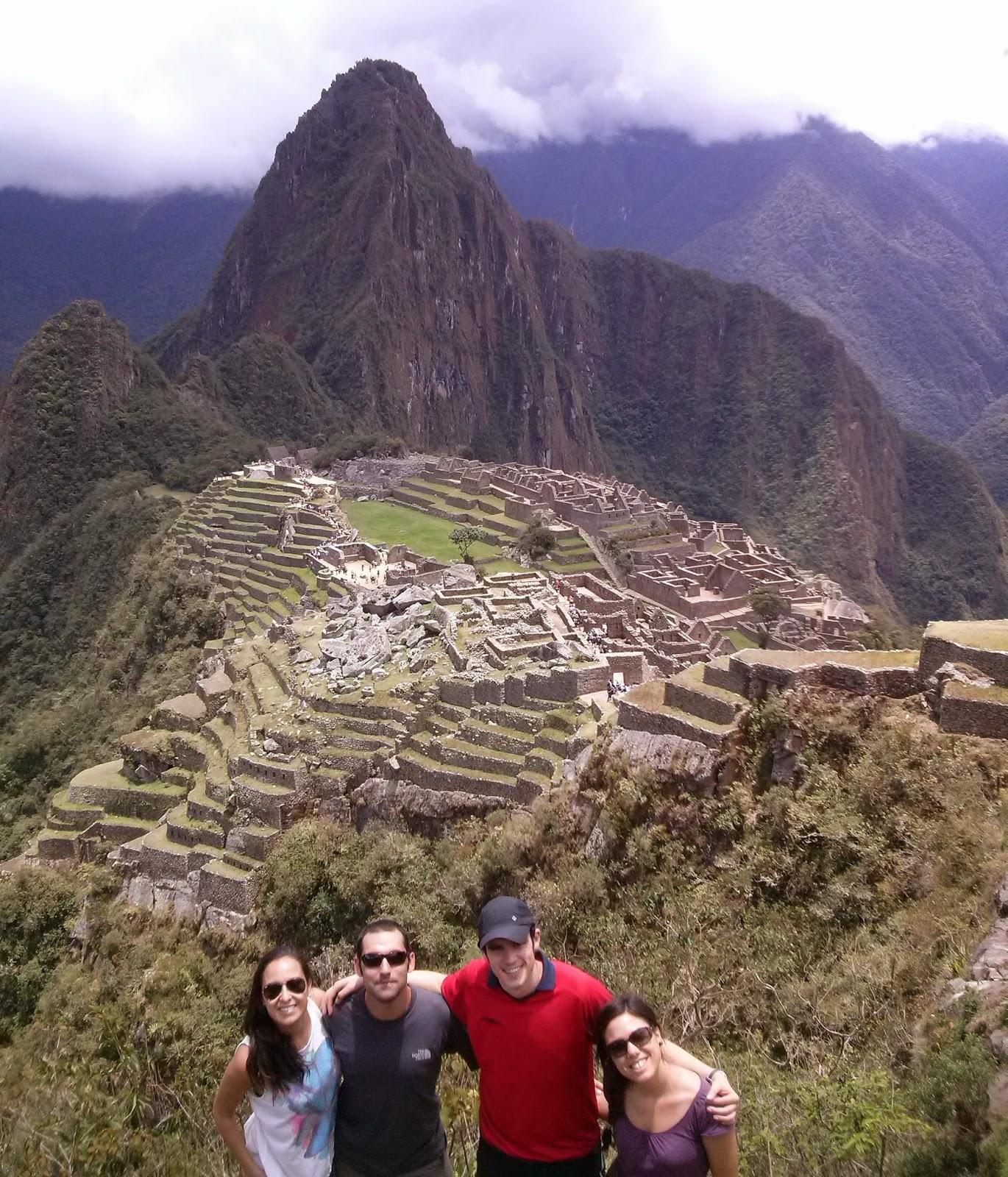 Foto más conocida del Machu Picchu