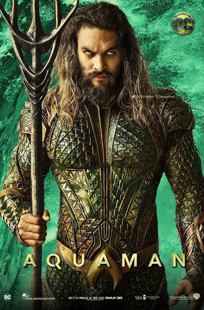 Aquaman 2018 Dual Audio New Hindi 400MB DVDScr 480p x264