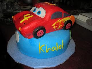 Car Cake With Base