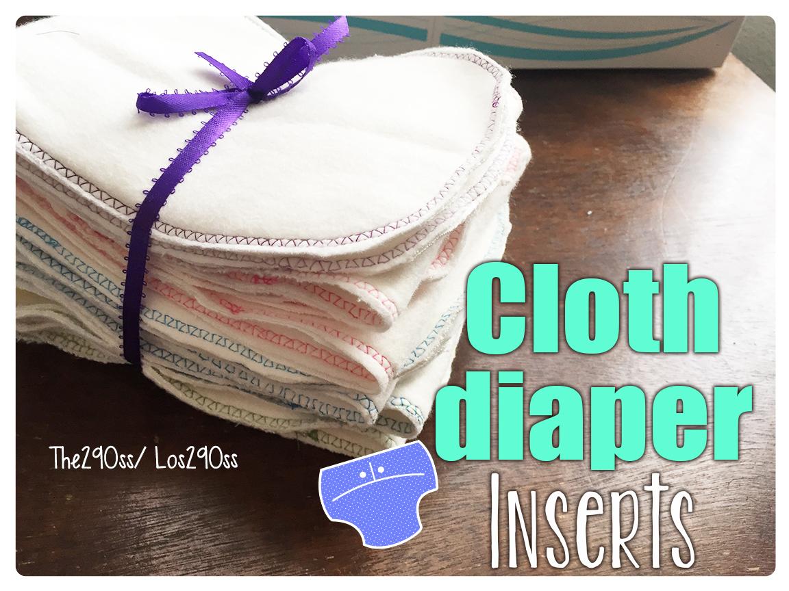 The290ss how to make cloth diaper inserts como hacer - Paneras de tela ...