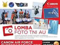 [Gratis] Lomba Foto Nasional 2018 di TNI Angkatan Udara