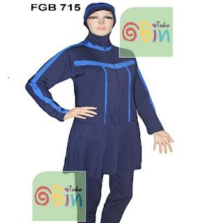 FGB 715 baju renang muslimah