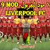 تحميل لعبة بيس 19 مود ليفربول PES 2019 v3.0.1 Mod Liverpool FC اخر اصدار