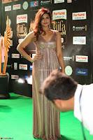 Telugu Actress Aarthi in Deep Neck Backless Golden Gown at IIFA Utsavam Awards 2017 Exclusive 49.JPG