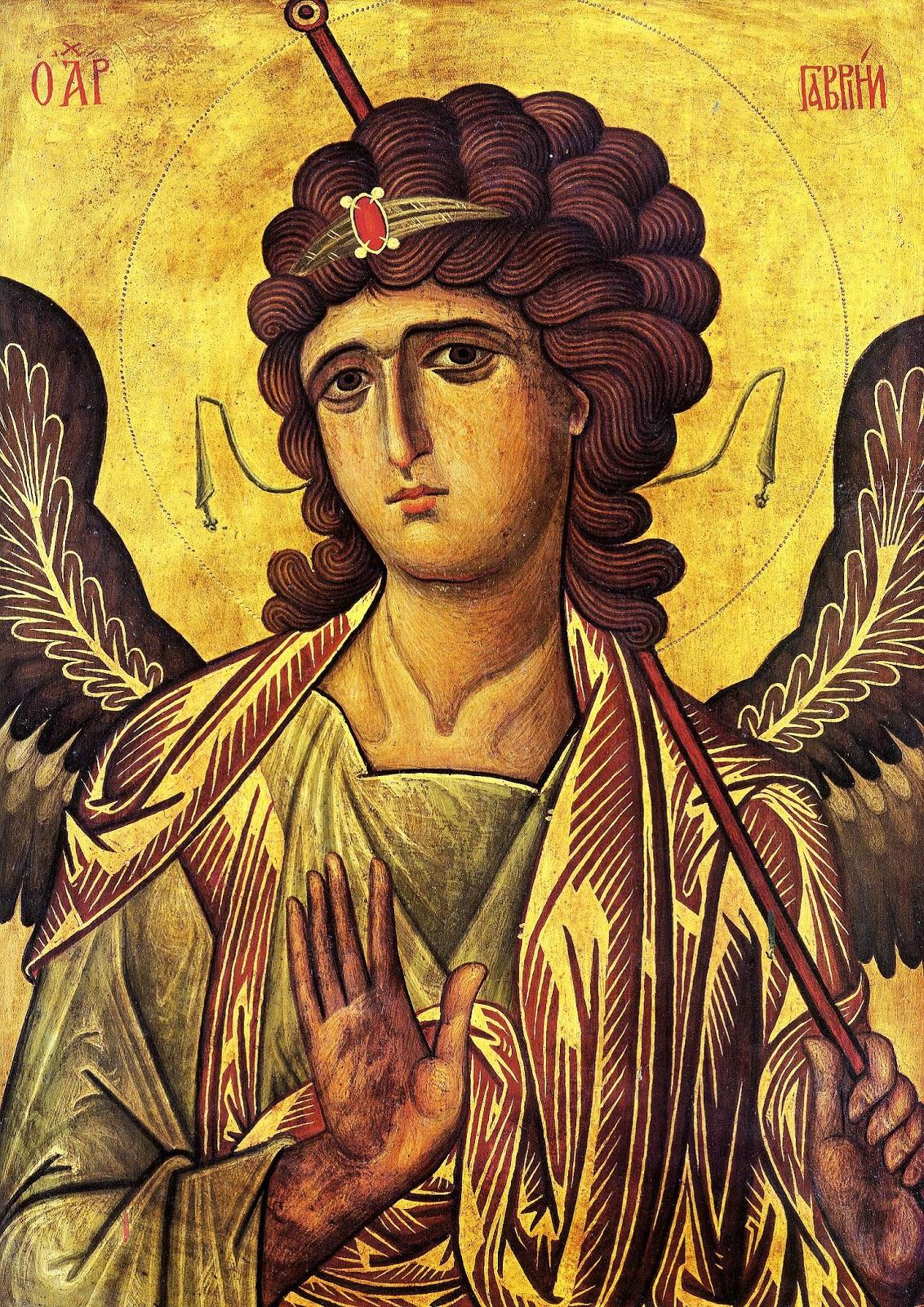 Famoso Monastero di S. Caterina, Sinai, Icona dell'Arcangelo Gabriele  IU28