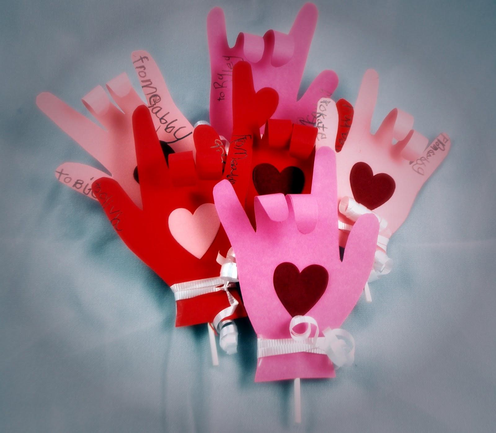 Preschool Valentine Snack Crafts