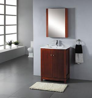 desain rumah: desain kamar mandi rumah minimalis modern