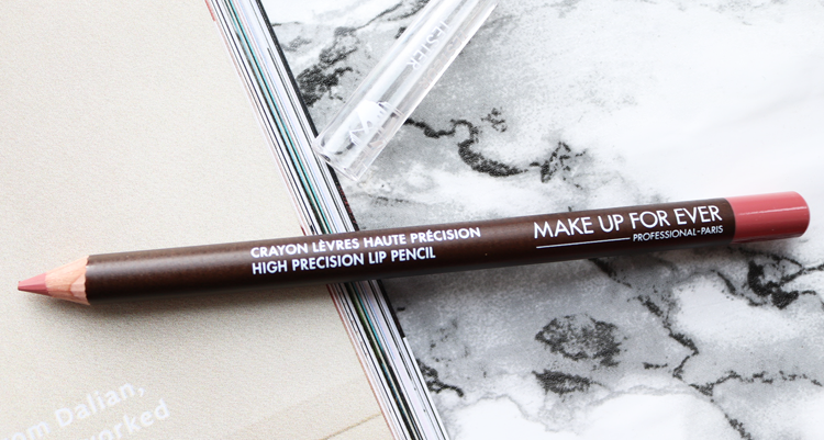 Make Up For Ever High Precision Lip Pencil in 11 review swatches
