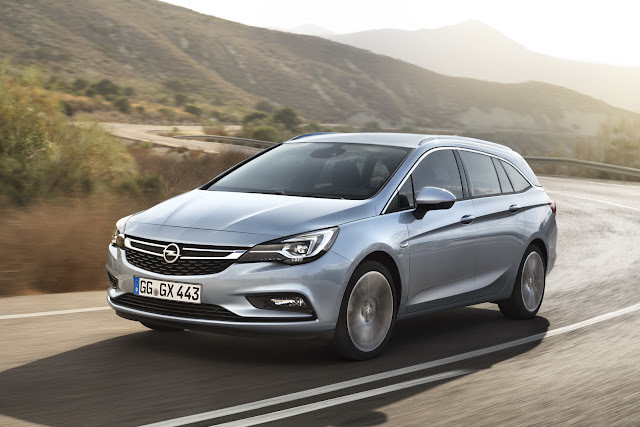 универсал Opel Astra 2016