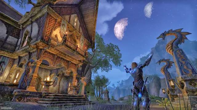 Elder Scrolls Online town