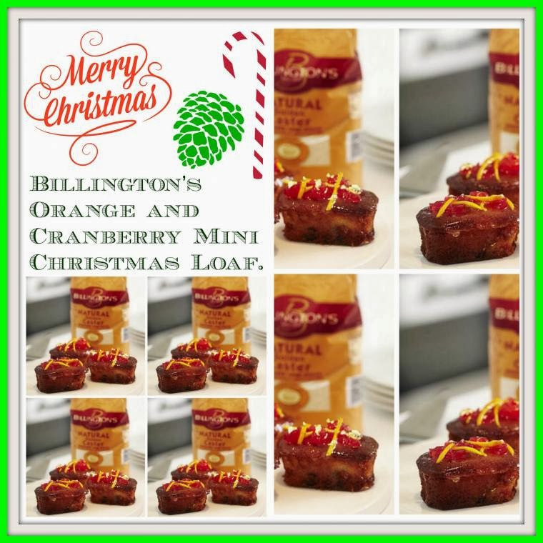 Billington's Orange And Cranberry Mini Christmas Loaf's