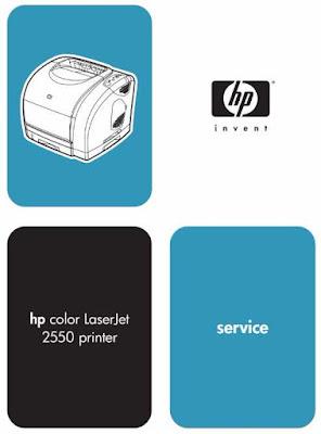 HP Color LaserJet 2550 Service Manual