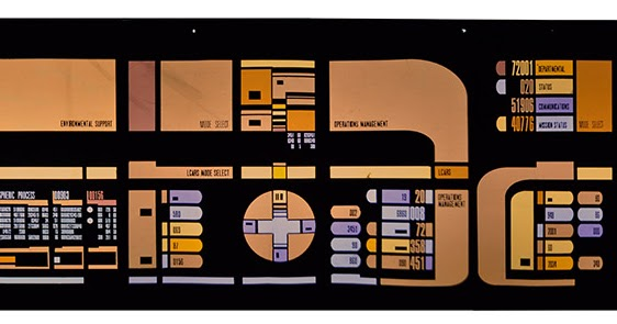 Wrath of Dhan Star Trek Prop Blog: OKUDAGRAMS PART 5: UP