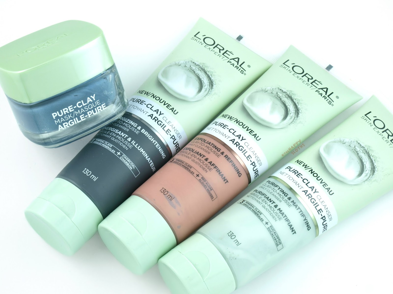 L'Oreal Pure-Clay Cleanser + Comforting & Unifying Mask: Review