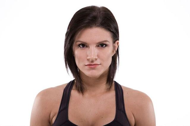 Gina Carano Gata   Gina Carano lutadora de MMA