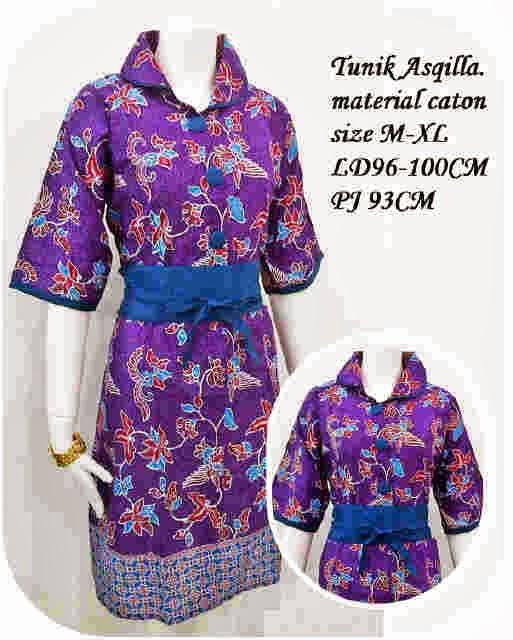 Baju Batik Wanita Ukuran Jumbo: BAJU BATIK WANITA GEMUK JUMBO