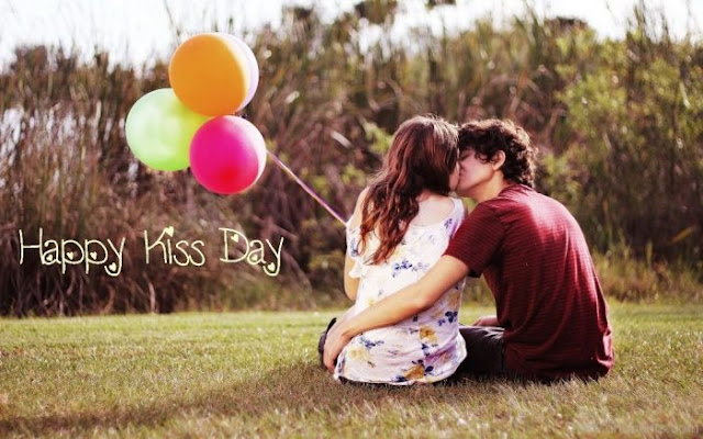 Happy Kiss Day Wishes SMS Message Quotes HD Images Wallpapers & Greeting Cards