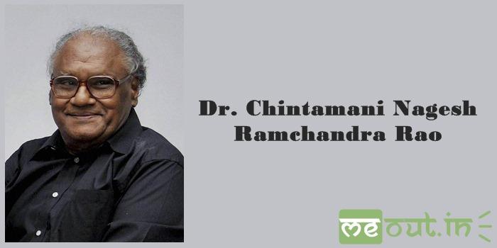 Dr. Chintamani Nagesh Ramchandra Rao