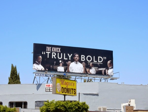 The Knick Truly Bold Emmy billboard