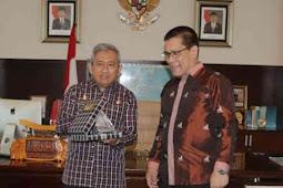 Ali Baal Masdar Terima Kunjungan Deputi Bidang Pelatihan dan Pengembangan BKKBN