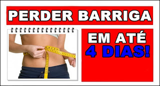 Receita caseira e natural para perder barriga em 4 dias