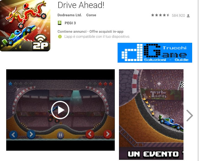 Trucchi Drive Ahead! Mod Apk Android v1.48