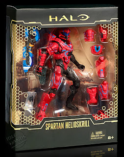 san diego comic-con 2016 mattel exclusive HALO SPARTAN HELIOSKRILL action figure