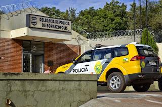 Resultado de imagem para policia hospital borrazopolis