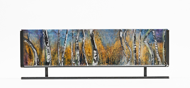 Daily painters abstract gallery fine art sculpture resin for Aspen x2