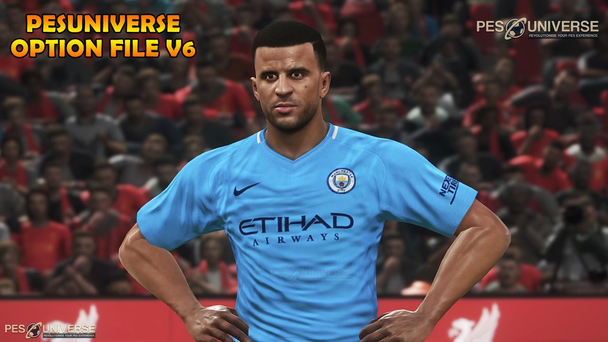 اوبشن فايل PES 2017 PES UNIVERSE OPTION FILE V6 2017/2018 DF5iErnXkAAw26x
