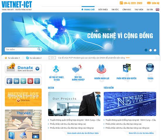 Những Loại Website Căn Bản