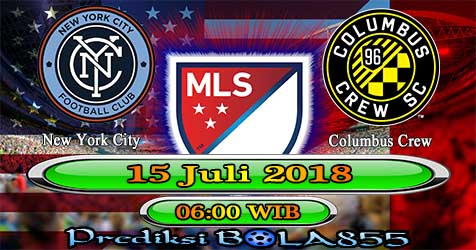Prediksi Bola855 New York City vs Columbus Crew 15 Juli 2018