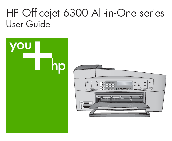 HP OFFICEJET 6310 USER MANUAL