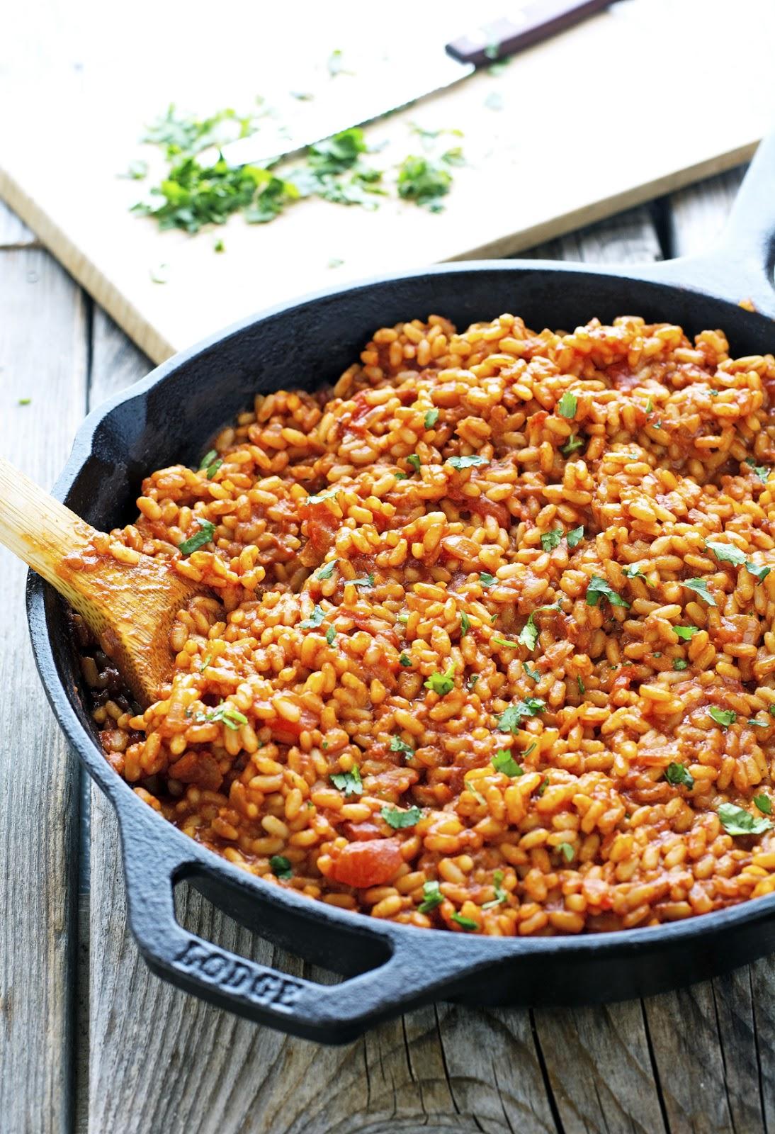 (Vegan) Easy Flavorful Spanish Rice
