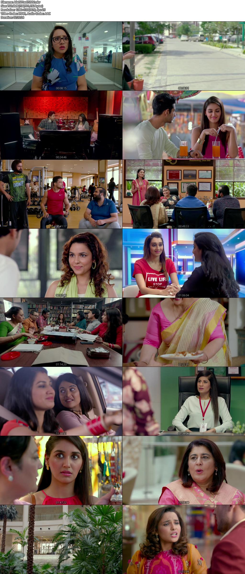 Screenshots Of Hindi Show Aafat Season 01 2019 Complete - All Episodes 300MB 720P HD