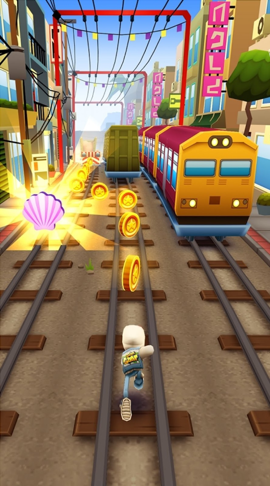 Subway Surfers : Android Game Free Download