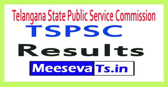 Telangana State Public Service Commission TSPSC AEO Results 2017