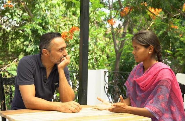 Rahul Bose with Aditi Inamdar