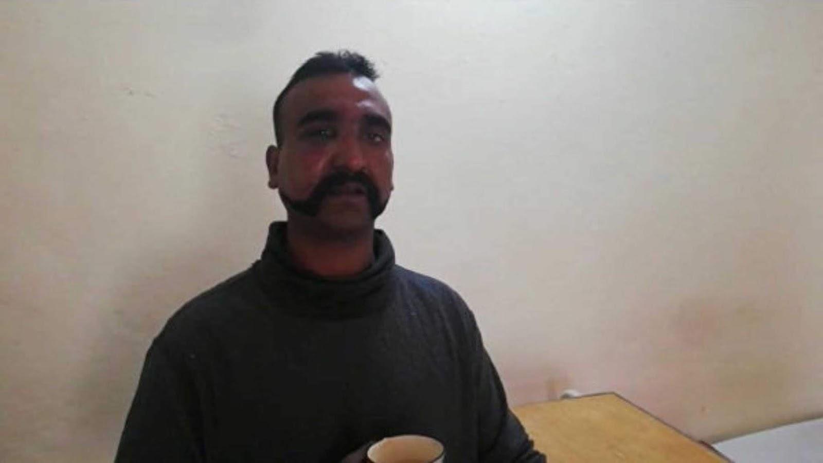 Pilot India yang di tahan Pakistan telah di bebaskan