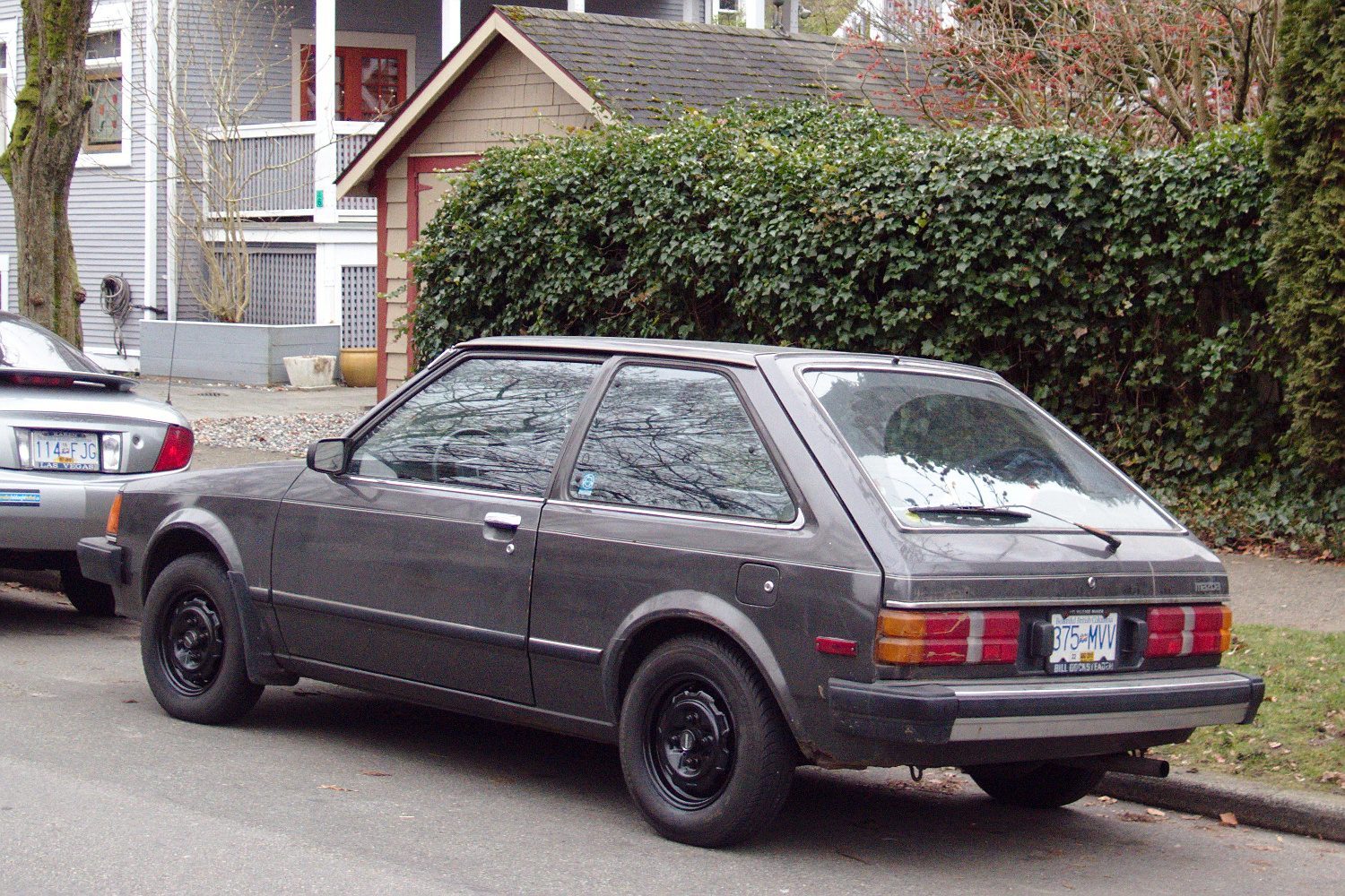 Old Parked Cars Vancouver  1984 Mazda Glc