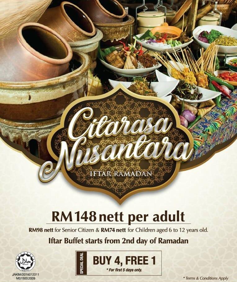 2018 Ramadhan Buka Puasa Buffet Offers By Major Hotels In Kuala Lumpur Selangor Best Fb Kl