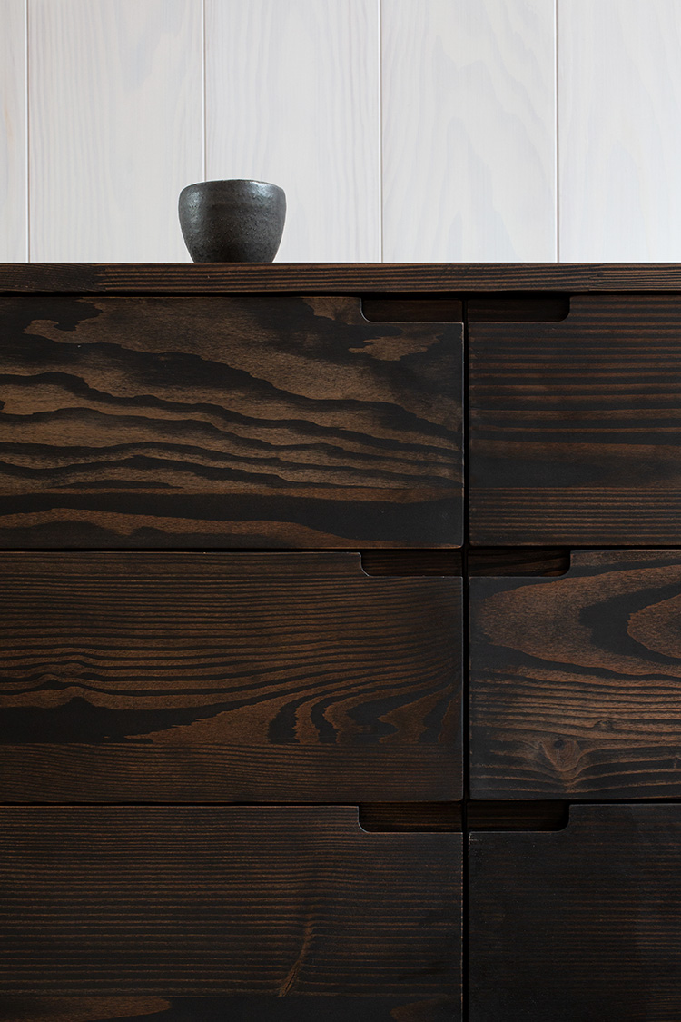 New sustainable kitchen design by Lendager Group for Reform with wood surplus from Dinesen