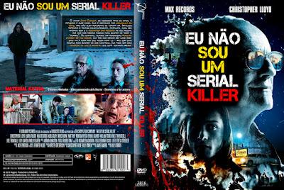 Filme Eu Não Sou Um Serial Killer (I Am Not a Serial Killer) DVD Capa