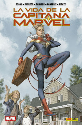 "Comic: Review de ""La Vida de la Capitana Marvel"" de Margaret Stohl - Panini Comics"