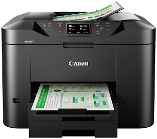 multipurpose Light Amplification by Stimulated Emission of Radiation printer is designed for habitation offices that prioritize character printing a Canon Maxify MB2755 Driver Download